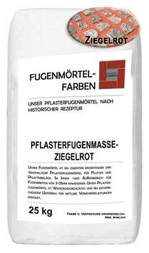 Plasterfugenmörtel ZIEGELROT