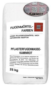 Plasterfugenmörtel KAMINROT