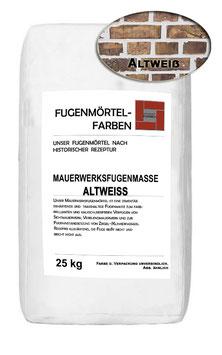 Mauerwerksfugenmörtel - ALTWEISS