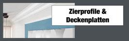 Zierprofil & Deckenplatte 1