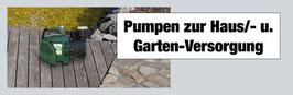 "Garten-Haus Pumpen ""Mr. Gardener"" B3"