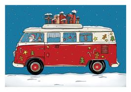 Bus Weihnacht