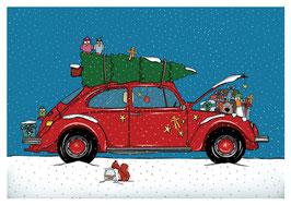 Käfer Weihnacht