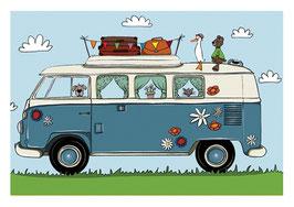 Bus Frühling