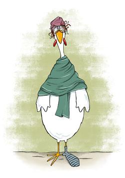 Susi die Henne