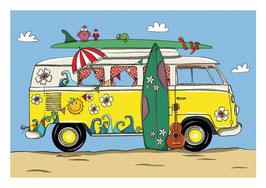 Bus Sommer
