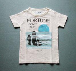 ロゴ&サーフボードと犬の半袖Tシャツ/Jeans-b 2nd