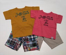 60xOLD USAマウスプリント半袖Tシャツ/F.O.U