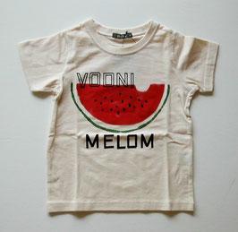 ロゴ&スイカの半袖Tシャツ/nico hrat
