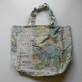 海図のトートバックL