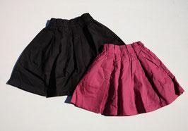 鹿の子織風タックギャザースカート/seraph