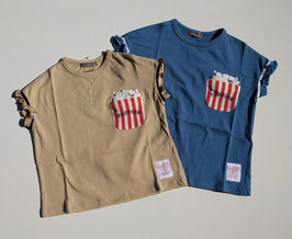 ポップコーンのTシャツ/nico hrat