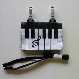 ピアノの外付けポケット(2WAY)