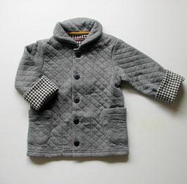 襟つきニットキルトジャケット/Studio mini
