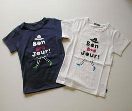 Bon Jour!の半袖Tシャツ(ジュニア)