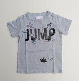 ロゴ&スケボーペンギンの半袖Tシャツ/Jeans-b 2nd