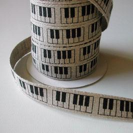 リネンのテープ(ピアノ)