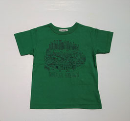 ホームタウン半袖Tシャツ(グリーン)/F.O.U
