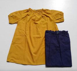 ギャザーワンピース/Little s.t by s.t closet