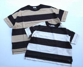 ビッグボーダーの半袖Tシャツ/F.O.U