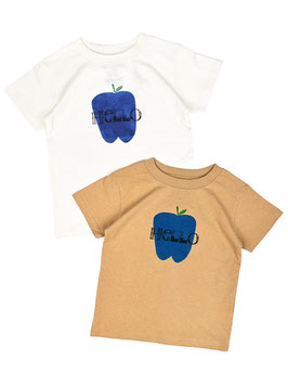 HelloアップルTシャツ/O.G