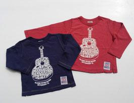 ROCK ON…ギターの長袖Tシャツ/F.O.
