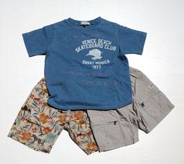 ヴィンテージ風 象の半袖Tシャツ/F.O.U