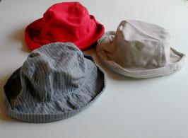 コットンリネンの帽子