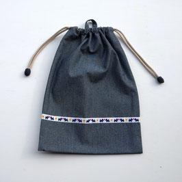 シリーズ21のお着替え袋(テリアチロリアン)
