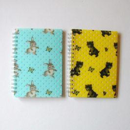 ウサギとクマのノート