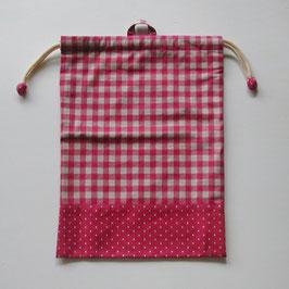 シリーズ18(リバーシブル/プレーン)のお着替え袋
