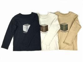 ブックプリントTシャツ/O.G