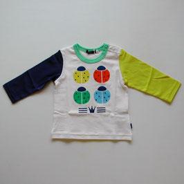 カラフルなてんとう虫のTシャツ/Caldia