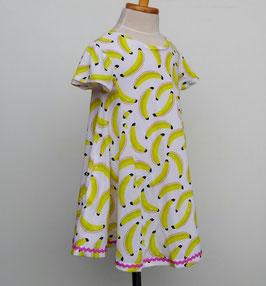 陽気なバナナの半袖ワンピース/Caldia