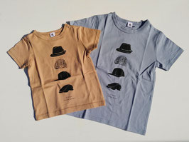 帽子4つの半袖Tシャツ/Jeans-b