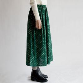 アンプール ギャザー スカート