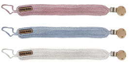 Schnullerband Klassik in 3 Farben