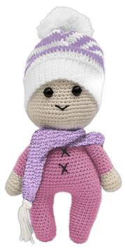 Puppe Paul rosa