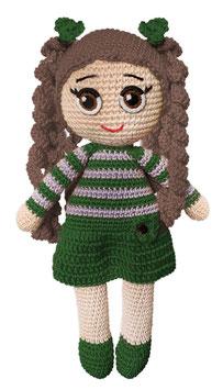 Puppe Pia grün
