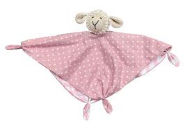 Kuscheltuch Schaf Steffen rosa