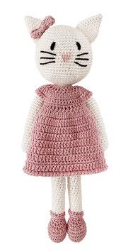 Katze Kati rosa
