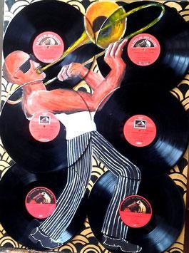 Trombone Disques Vinyles