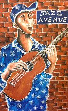 Le guitariste de jazz