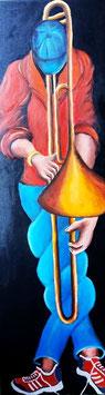 Trombone a la casquette