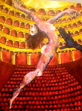 Danseuse au théâtre