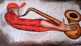 Saxophoniste à la casquette