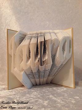 """Gefaltetes Buch """"Laura"""""""