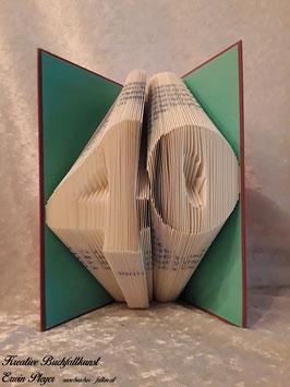 """Gefaltetes Buch """"40"""""""