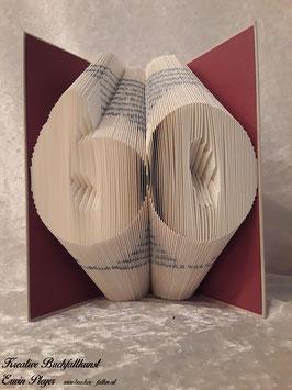 """Gefaltetes Buch """"60"""""""