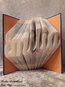 "Gefaltetes Buch ""Emilia"""